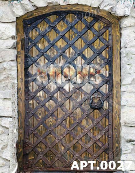 Металлические двери под старину своими руками