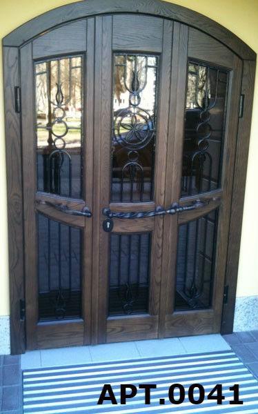 входные арочные двери в коломне
