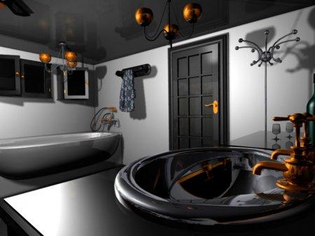 Сантехнические двери в ванную и туалет