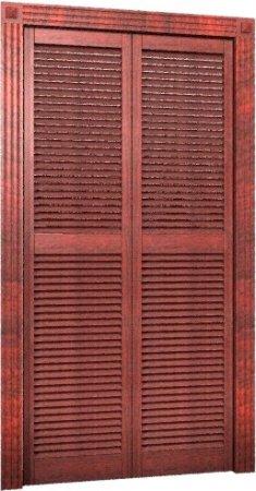 Двери жалюзийные входные и межкомнатные